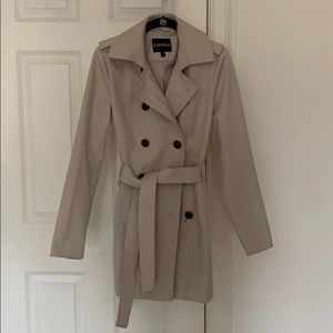 Express Trench Coat S - Like New!